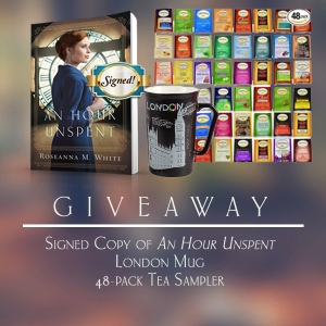 an hour unspent giveaway